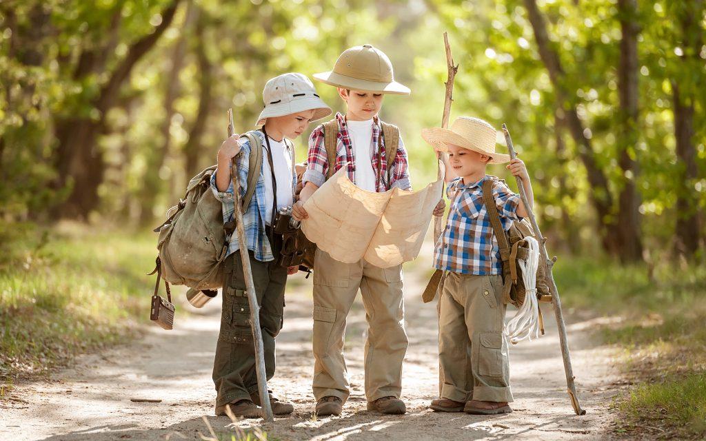 Походные игры для детей: 5 веселых примеров