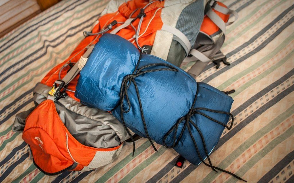 Как хранить спальный мешок?